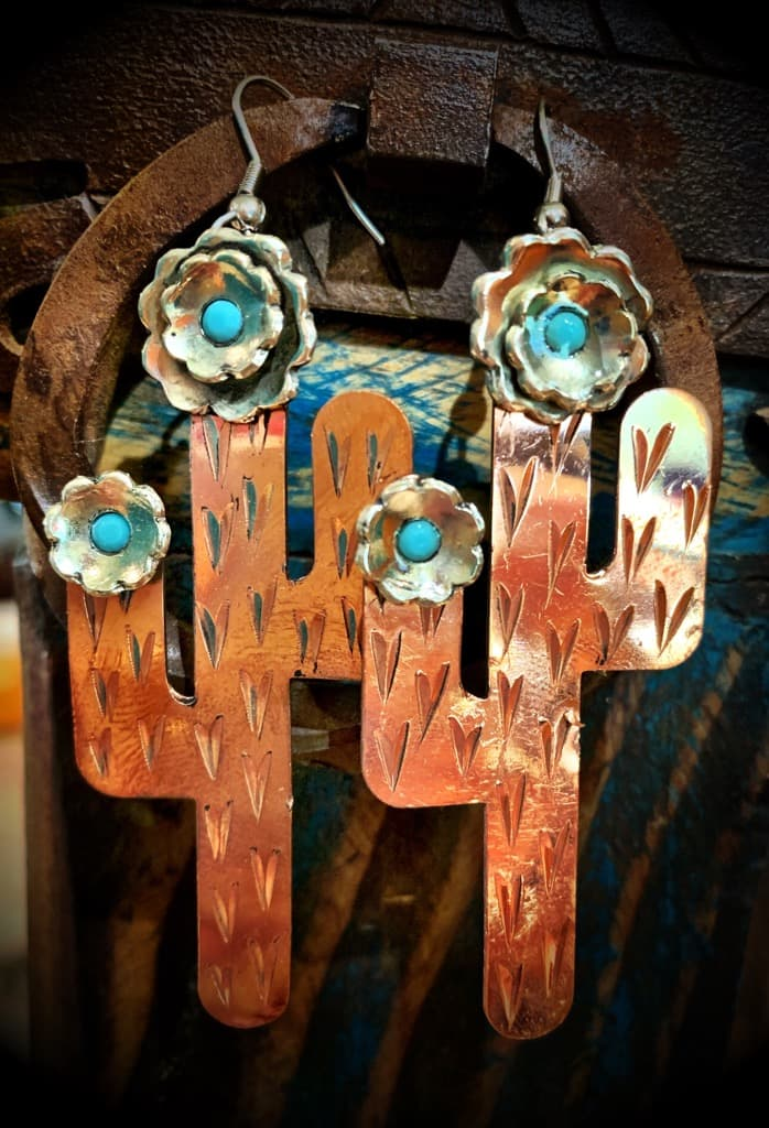 Saguaro Copper/Silver/Turq