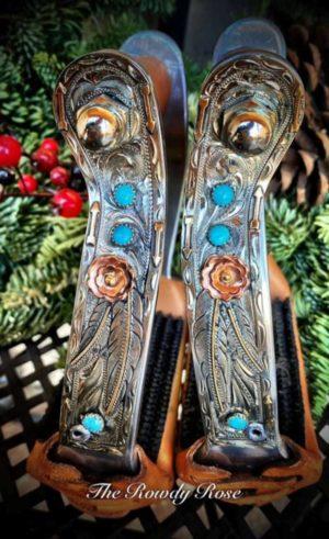 bailey-barrel-stirrups-arrows-turquoise