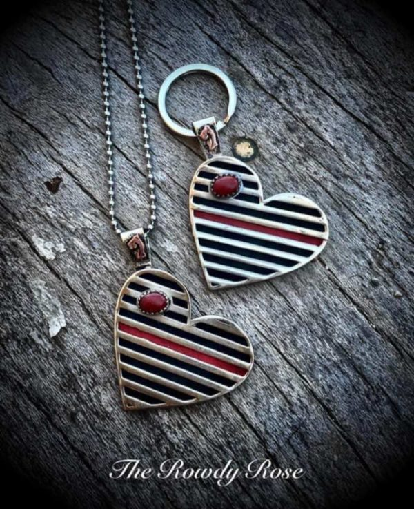 thin-red-line-heart-pendant