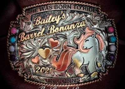 bailey unicorn buckle