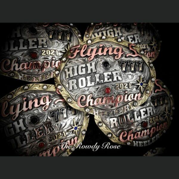 high roller buckle 2