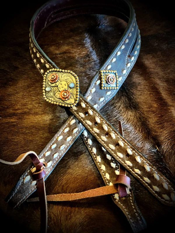 headstall-silver-cactus-pearls