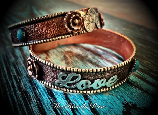 custom love bangle